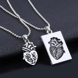 Jewelry - His & Hers Anatomical Heart Necklace Set Friends
